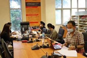 การประเมินคุณภาพการศึกษาภายในสาขาวิชาการเงิน วันที่ 28 พฤษภาคม 2564